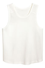 Vest top - White - Men | H&M 2