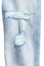 Relaxed Tapered Jeans - Light denim blue - Kids | H&M 4