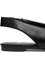 Slingbacks - Black - Ladies | H&M CN 5