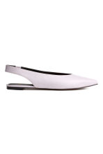 Slingbacks - Ljuslila - Ladies | H&M FI 1