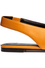 Slingbacks - Orange - Ladies | H&M 4