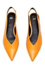 Slingbacks - Orange - Ladies | H&M 2