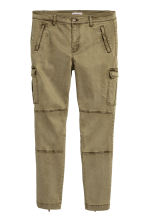 H&M+ Cargo trousers - Khaki green - Ladies | H&M 2