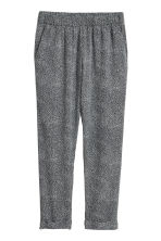 Pull-on trousers - Black/Spotted -  | H&M CA 2
