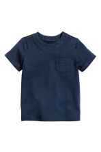 T-shirt - Blu scuro - BAMBINO | H&M IT 1