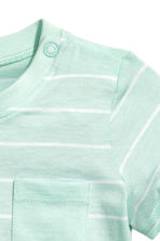 T-shirt - Mint green/Striped -  | H&M CN 2