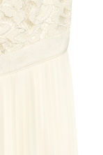 H&M+ Long dress - Natural white - Ladies | H&M CN 3