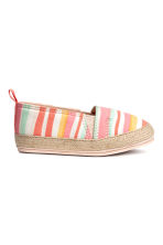 Espadrilles - Multistriped - Kids | H&M CN 2