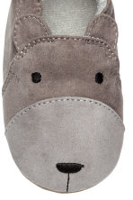 Terry-lined slippers - Dark grey - Kids | H&M CN 4