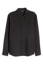Lyocell shirt Regular fit - Black - Men | H&M CN 2