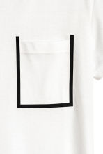 Mesh T-shirt - White - Men | H&M 3