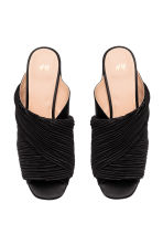 Mules - Black - Ladies | H&M CA 2