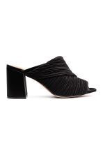 Mules - Black - Ladies | H&M CA 1