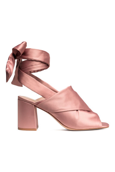 Mules - Powder pink - Ladies | H&M GB 1