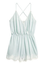 Playsuit - Mint green - Ladies | H&M 2