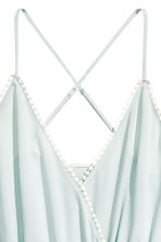 Playsuit - Mint green -  | H&M CA 3