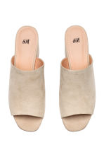 Mules - Light mole - Ladies | H&M CN 2