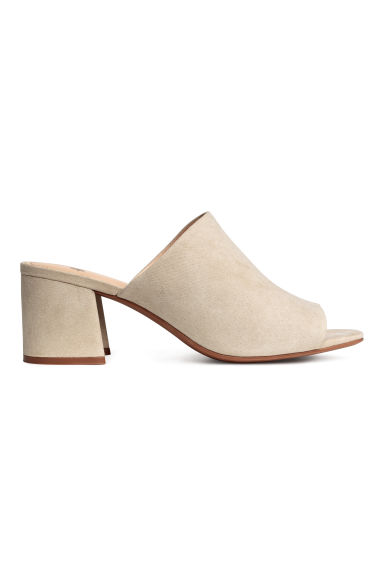 Mules - Light mole - Ladies | H&M CN 1