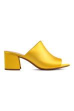Mules - Yellow - Ladies | H&M CN 1