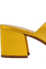 Mules - Yellow - Ladies | H&M CN 4