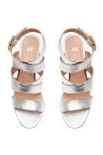 Sandals - Silver - Ladies | H&M CN 2