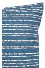 Cotton cushion cover - Blue/Striped - Home All | H&M CN 2