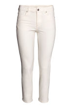 Slim Cropped Regular Jeans - Natural white - Ladies | H&M 2
