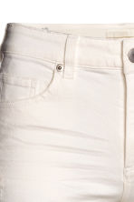 Slim Cropped Regular Jeans - Natural white - Ladies | H&M CN 4