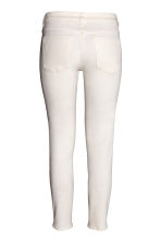 Slim Cropped Regular Jeans - Natural white - Ladies | H&M CN 3