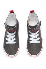 Hi-top trainers - Dark grey/Spiderman - Kids | H&M CN 2