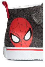 Hi-top trainers - Dark grey/Spiderman - Kids | H&M CN 4