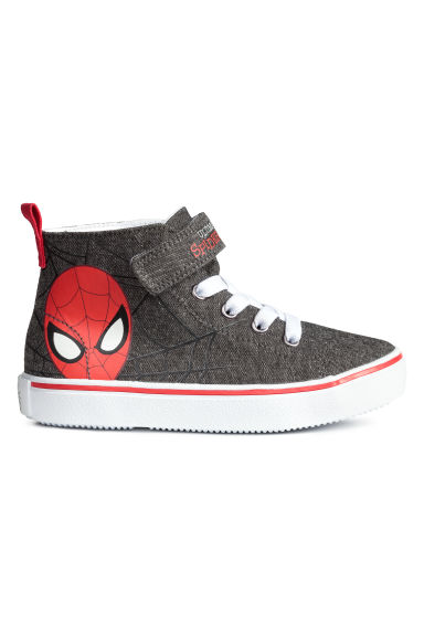 高筒運動鞋 - Dark grey/Spiderman -  | H&M 1