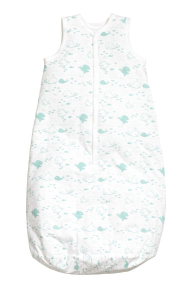 Baby sleeping bag - White/Whale - Kids | H&M CN