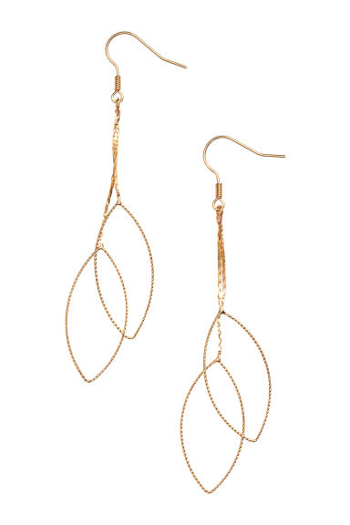 Long earrings - Gold - Ladies | H&M