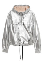 Shimmering metallic jacket - Silver - Ladies | H&M 2