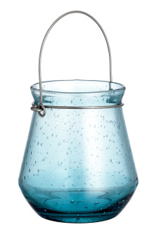 Glass candle lantern