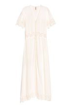 Long dress - White - Ladies | H&M CN 2