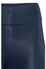 Sports tights - Dark blue - Ladies | H&M 4