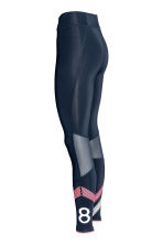 Sports tights - Dark blue - Ladies | H&M 3