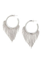 Hoop earrings - Silver - Ladies | H&M CN 1