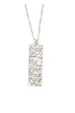 Two-strand pendant necklace - Silver - Ladies | H&M CN 2