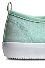 Glittery trainers - Mint green -  | H&M 4