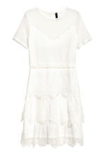 Lace dress - White - Ladies | H&M CN 2