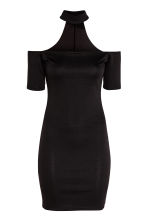 Off-the-shoulder dress - Black - Ladies | H&M CN 2