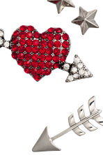 7-pack brooches - Silver - Ladies | H&M CN 2