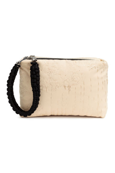 Padded pouch bag - Light beige - Ladies | H&M CN 1