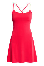 Short jersey dress - Red - Ladies | H&M 2