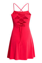Short jersey dress - Red - Ladies | H&M 3
