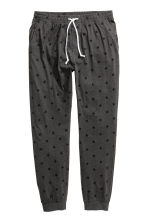 Pyjama bottoms - Dark grey/Stars - Men | H&M CN 2