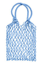 Mesh shopper - Light blue - Ladies | H&M 1
